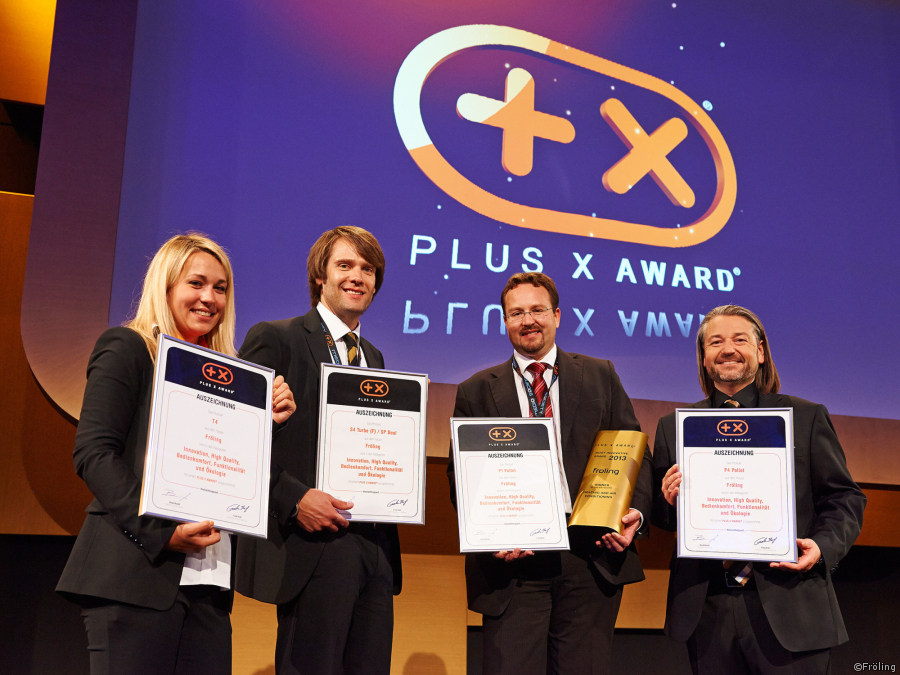 Froling Plus X Award